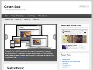 دانلود قالب Catch Box برای وردپرس