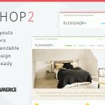 دانلود قالب زیبای فروشگاهی WP Flexishop 2 برای وردپرس