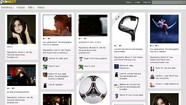 دانلود اسکریپت اشتراک گذاری عکس و فایل pinnect