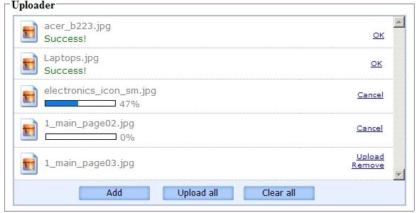 دانلود اسکریپت آپلود فایل به صورت ای جکس
