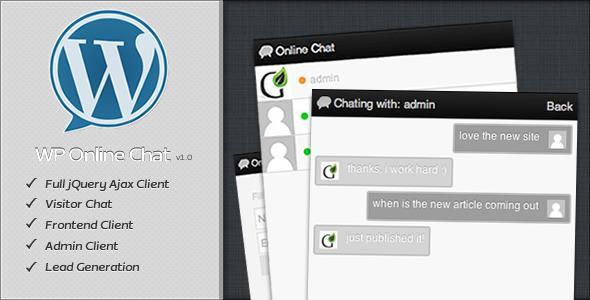 دانلود افزونه چت آنلاین برای وردپرس