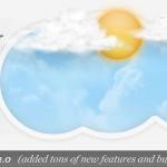 دانلود اسلایدر زیبای هواشناسی jQuery