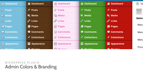 دانلود افزونه تغییر رنگ صفحه مدیریت وردپرس