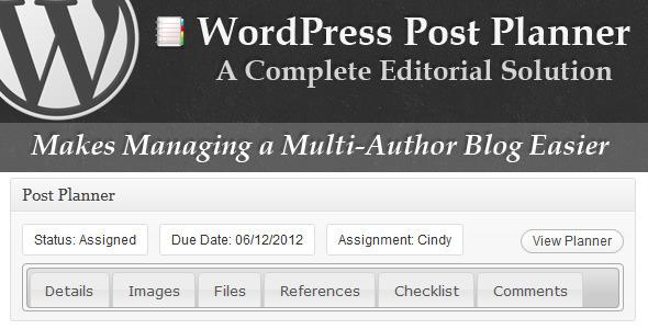 دانلود افزونه WordPress Post Planner برای وردپرس