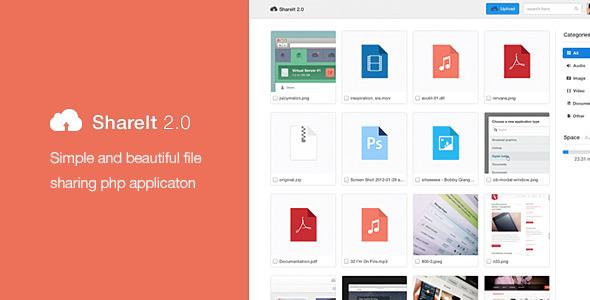 دانلود اسکریپت آپلود سنتر و اشتراک گذاری ShareIt 2.0