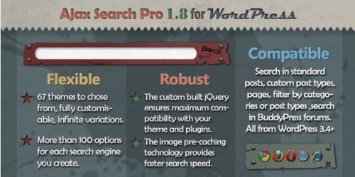 دانلود افزونه جستجوی ایجکس برای وردپرس