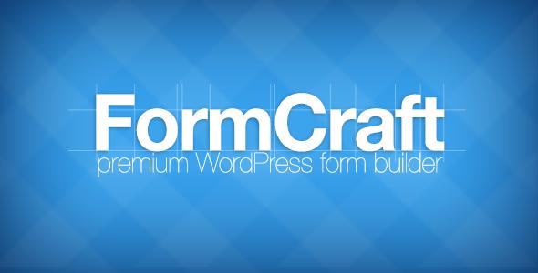 دانلود افزونه ساخت فرم برای وردپرس با نام FormCraft