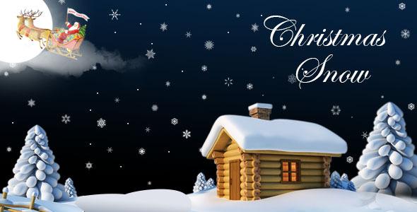 دانلود افزونه برف کریسمس برای وردپرس