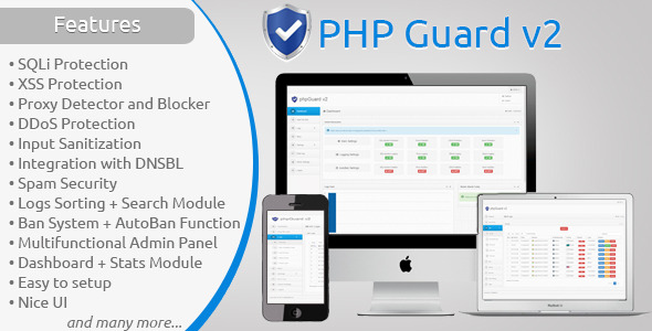 دانلود اسکریپت محافظت از سایت شما به نام phpGuard