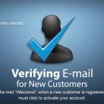 تائید ایمیل مشتریان پرستاشاپ با افزونه