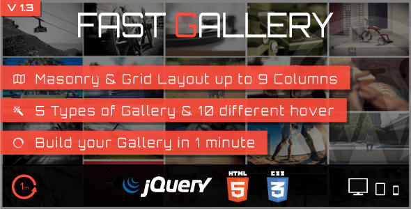 ایجاد گالری در وردپرس با fast gallery