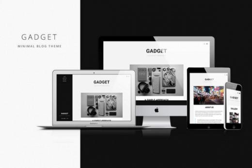 قالب وبلاگی GADGET برای وردپرس